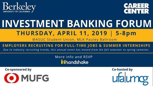 2019 Investment Banking Forum