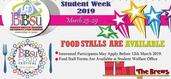 Student Week 2019