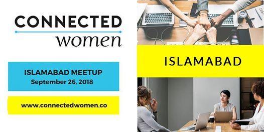 ConnectedWomen Meetup - Islamabad (PK) - Sept 26