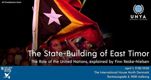 UNYA Talks UN state-building and peace-keeping in East Timor