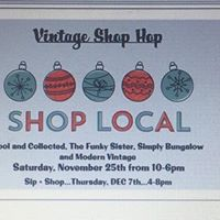 Vintage Holiday Shop Hop