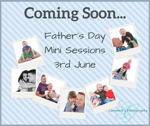 Fathers Day Mini Sessions