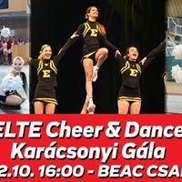 ELTE Cheer &amp Dance Karcsonyi Gla