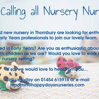 Recruitment Event Happy Days Thornbury