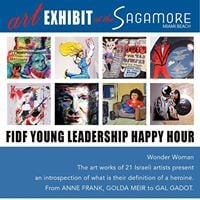 FIDF YL Wine Cheese &amp Art at The Sagamore