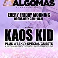 Algo Mas Every Friday Morning At Union 3am-11am
