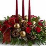 Adult Workshop - Christmas table flower arrangements