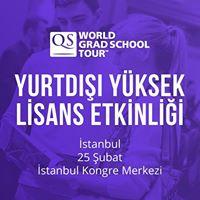 QS World Grad School Tour - stanbul
