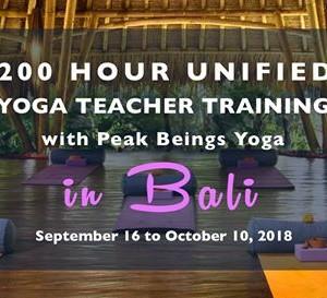 200 Hour Unified - Yoga Teacher Training with Peak Beings Yoga
