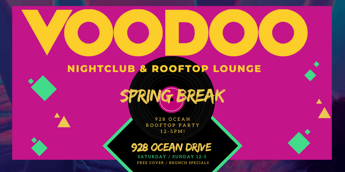 Spring Break Rooftop Day Party