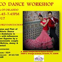 Flamenco Dance Workshop by Alborea