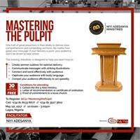 Mastering The Pulpit
