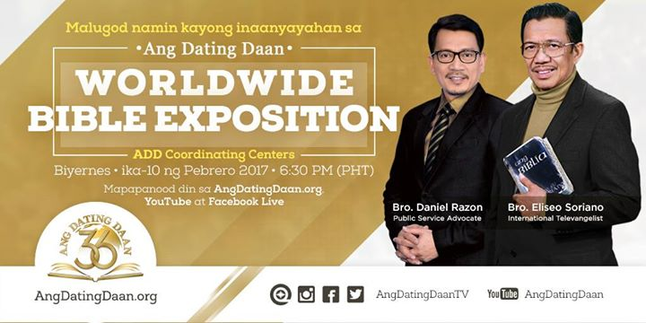 Youtube Ang Dating Daan Bible Exposition 2018 Calendar