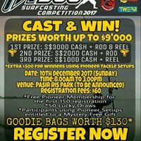 PIONEER PTSCC SURFCASTIMG competition 2017