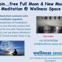 Free Meditation at Wellness Space