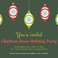 Chatham Dems Holiday Party