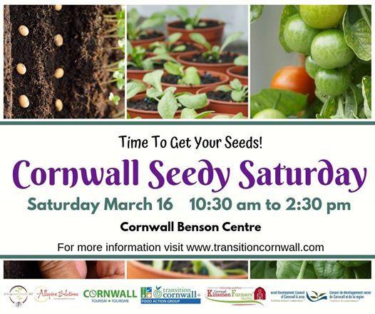 Seedy Saturday Cornwall 2019 - 5th Annual