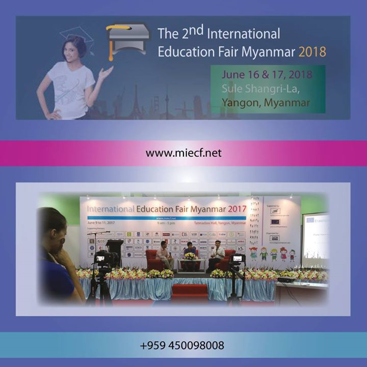 The 2nd International Education Fair Myanmar 2018