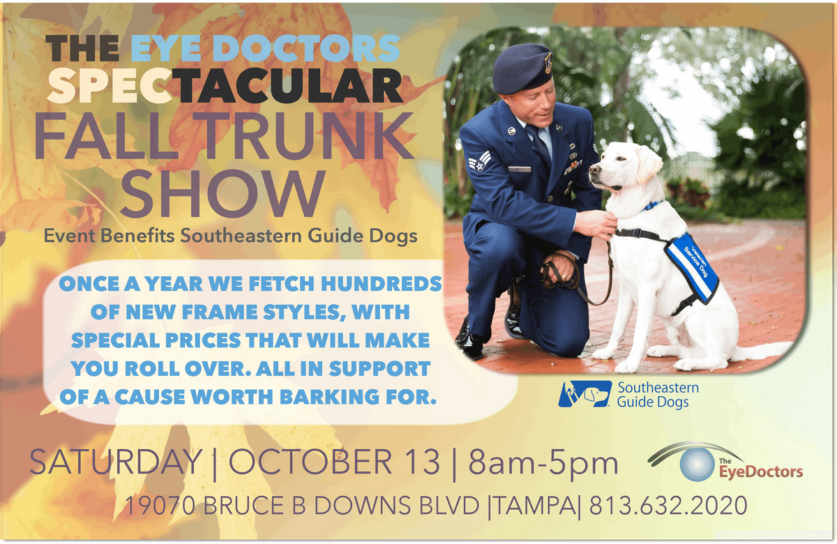 The Eye Doctors of Trinity Spectacular Fall Trunk Show
