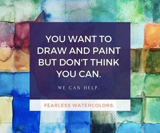 Fearless Art Workshop for Artists