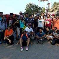 Morning cycling in South Mumbai