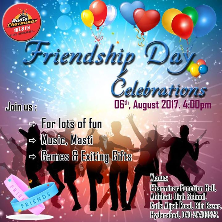 Friendship Day Celebrations At RADIO Charminar 107.8 FM