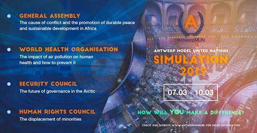 AntwerpMUN Simulation 2019