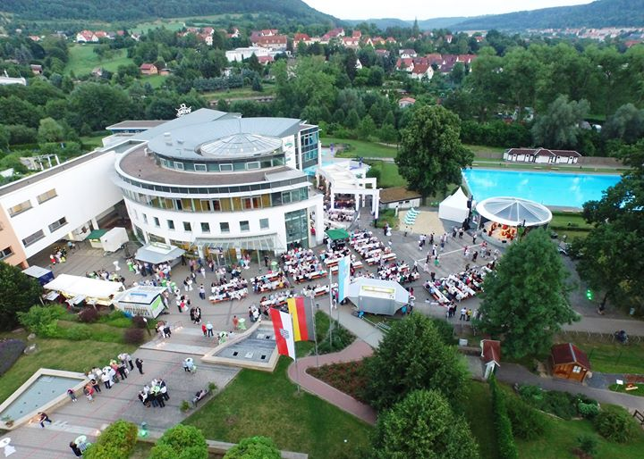 Kowo Heilbad Heiligenstadt heiligenstädter sommernachtsball 2016 at vitalpark eichsfeld therme