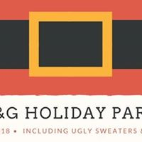 6B&ampG Holiday Party feat. Ugly Sweaters Santa &amp Karen Jonas