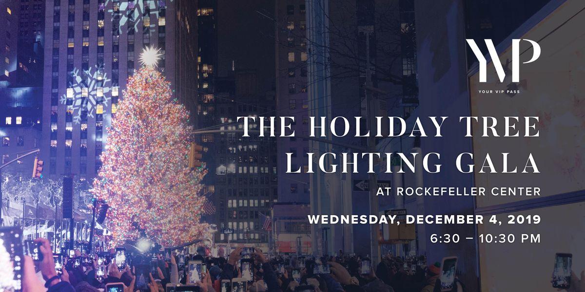 Rockefeller Center Holiday Christmas Tree Lighting 2019 Gala New