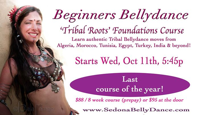 Beginners Tribal Roots Bellydance Foundation Course