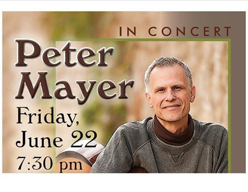 Peter Mayer in Concert at Albany UU