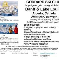 SOLD OUT 2018 NASA Ski Week Banff  Lake Louise
