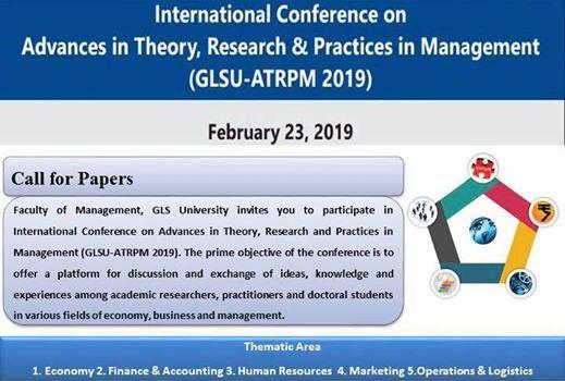 GLSU-ATRPM 2019 (International Conference - Management)