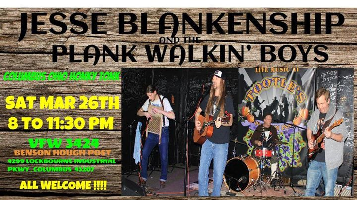 Jesse Blankenship and the Plank Walkin Boys