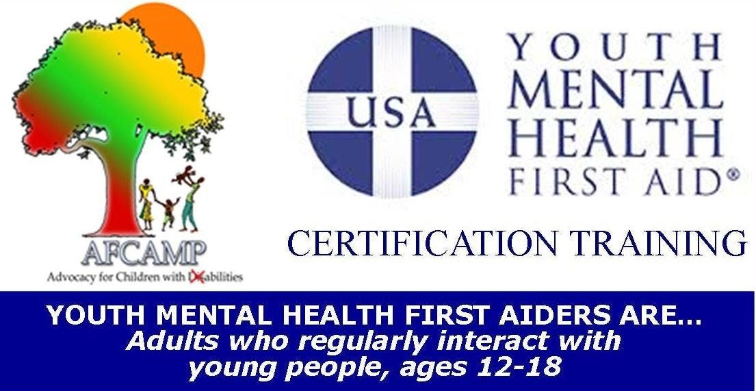 Afcamp Youth Mental Health First Aid Certification Training At