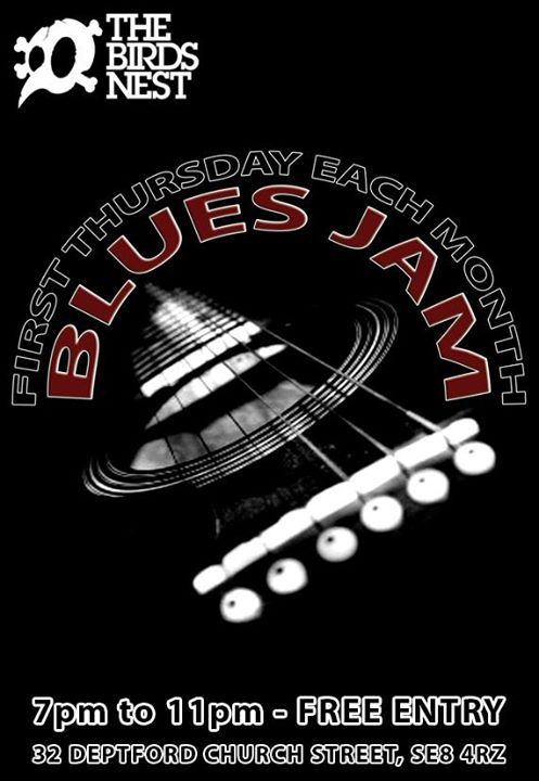 Blues Jam at The Birds Nest