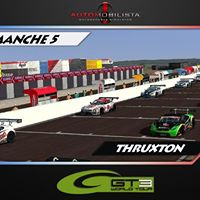 AMS - GT3 WORLD TOUR  Manche 5 - Thruxton