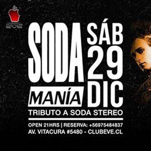 Sbado 29 SodaMana en vivo Tributo a Soda Stereo