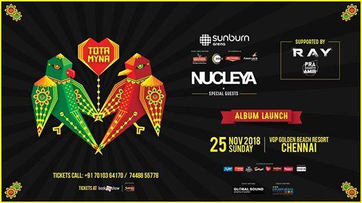 Sunburn Arena with Nucleya - Chennai