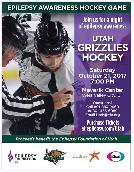 Epilepsy Awareness Hockey Game
