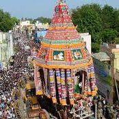 Thanjavur big temple  car  festival