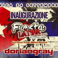 Inaugurazione Fiesta Latina Dorian Gray