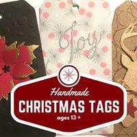 Handmade Holiday Tags
