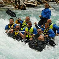 Rafting on river Tara