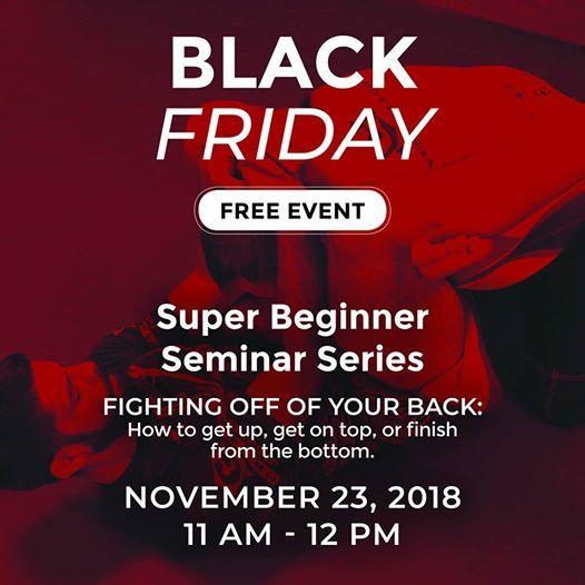 Black Friday SaleSeminar