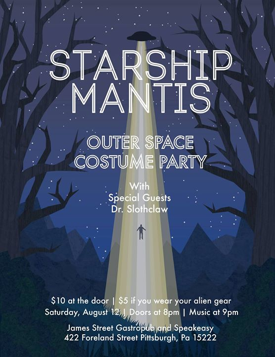 Outer Space Costume Party w Starship Mantis and Dr. Slothclaw