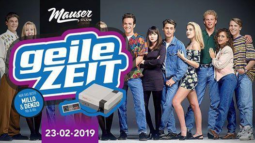Geile Zeit  90er  Dj Millo & Dj Denzo  23.02