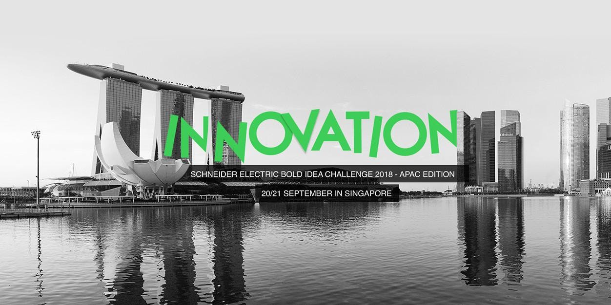 Schneider Electric Bold Idea Challenge APAC Edition Is OPEN