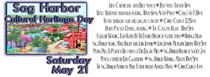 Sag Harbor Cultural Heritage Day